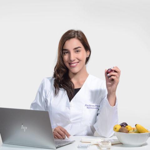 sesión fotos nutricionista santiago RRSS